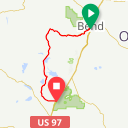 Map image of a Route from January 28, 2019