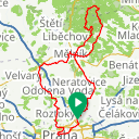 Map image of a Route from February  4, 2019