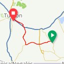 Map image of a Route from March  6, 2019