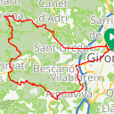 Map image of a Route from March  7, 2019
