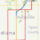 Map image of a Route from March  9, 2019