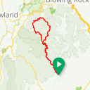 Map image of a Route from March 20, 2019