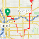 Map image of a Route from March 26, 2019
