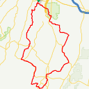 Map image of a Route from April  5, 2019