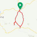 Map image of a Route from April  6, 2019