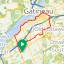 Map image of a Route from April  8, 2019