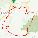 Map image of a Route from May  8, 2019
