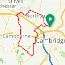 Map image of a Route from May 11, 2019