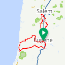 Map image of a Route from May 17, 2019