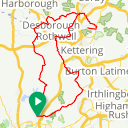 Map image of a Route from May 18, 2019