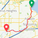 Map image of a Route from May 21, 2019