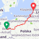 Map image of a Route from May 22, 2019