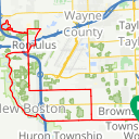Map image of a Route from May 23, 2019
