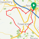 Map image of a Route from May 24, 2019