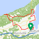 Map image of a Route from May 28, 2019