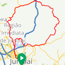 Map image of a Route from June 29, 2019