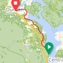 Map image of a Route from August 14, 2013