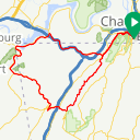 Map image of a Route from September  6, 2019