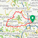 Map image of a Route from September 26, 2019
