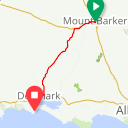 Map image of a Route from October  9, 2019