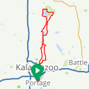 Map image of a Route from August 17, 2013