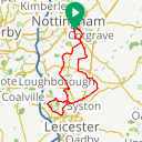 Map image of a Route from December 16, 2019