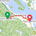 Map image of a Route from August 21, 2013