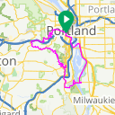 Map image of a Route from December 18, 2019