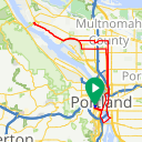 Map image of a Route from December 28, 2019