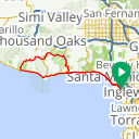 Map image of a Route from August 22, 2013