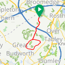 Map image of a Route from April 12, 2020