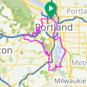 Map image of a Route from April 28, 2020