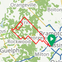 Map image of a Route from May  3, 2020