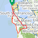 Map image of a Route from September 24, 2013