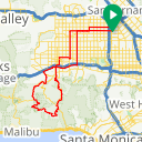 Map image of a Route from November  7, 2013