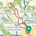 Map image of a Route from November 15, 2013