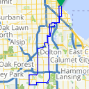 Map image of a Route from November 17, 2013