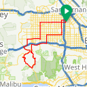 Map image of a Route from December 23, 2013