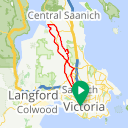 Map image of a Route from December 30, 2013
