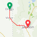 Map image of a Route from January 11, 2014