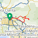Map image of a Route from January 29, 2014