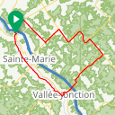 Map image of a Route from February  5, 2014