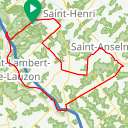 Map image of a Route from February 17, 2014