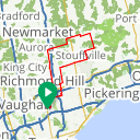 Map image of a Route from March 11, 2014