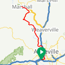 Map image of a Route from March 21, 2014