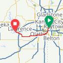 Map image of a Route from March 22, 2014
