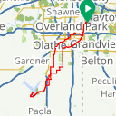 Map image of a Route from April  6, 2014