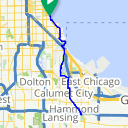 Map image of a Route from April 10, 2014
