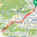 Map image of a Route from April 12, 2014