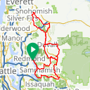 Map image of a Route from April 16, 2014